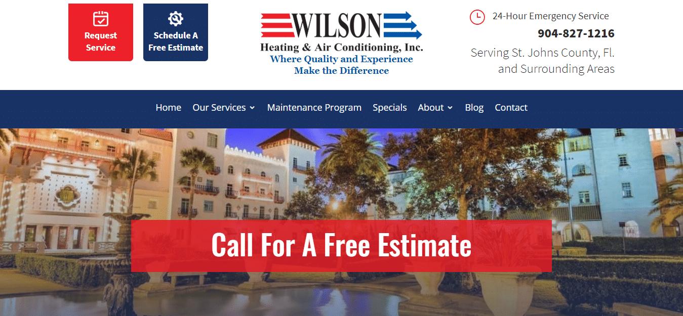HVAC-Installation-St-Augustine-FL-HVAC-Repair-Wilson-Air-Conditioning